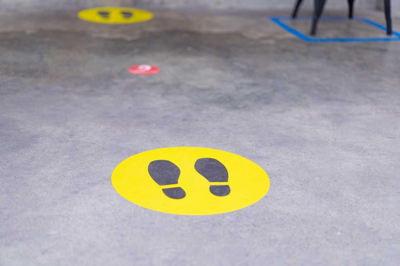 põrandakleebis